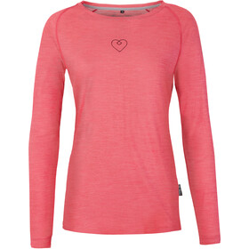 Pally'Hi Heartzl Longsleeve Women rare raspberry